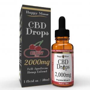 2000mg Cherry CBD Oil