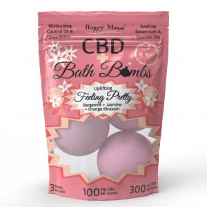Feeling Pretty CBD Bath Bombs