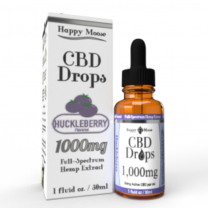 1000mg Huckleberry CBD Oil