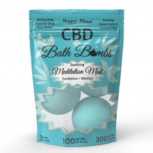 Meditation Mint CBD Bath Bombs