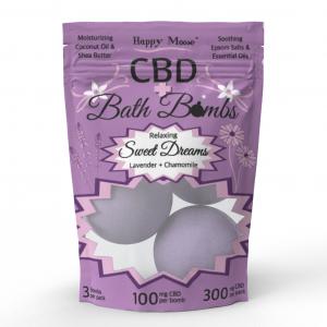 Sweet Dreams CBD Bath Bombs