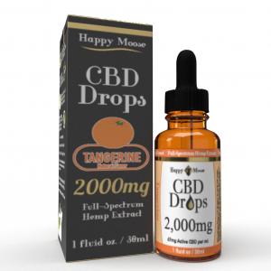 2000mg Tangerine CBD Oil