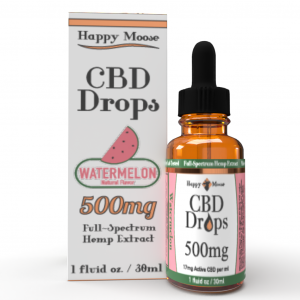 500mg Watermelon CBD Oil